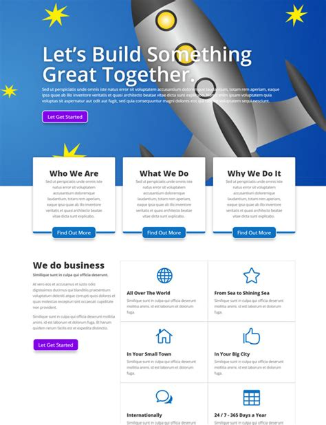 Business Divi Theme Template Divi Ready Themes Divi Child Theme Templates