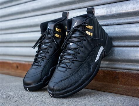 Black Master Shoes 2 air 12 the master sneaker bar detroit