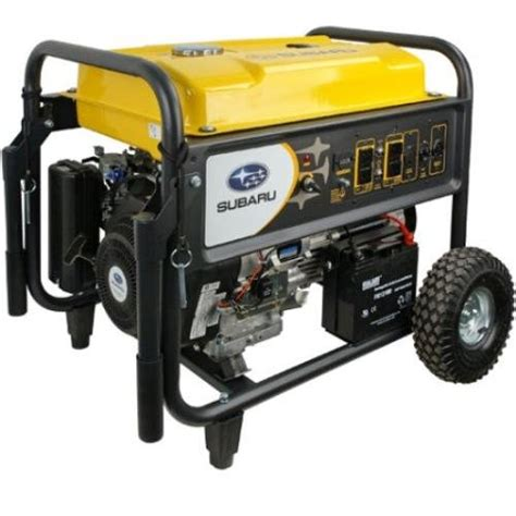 subaru sgx7500e subaru sgx7500e commercial generator 7500 watt reviews