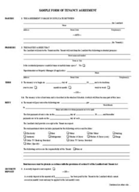 section 51 residential tenancy act sle form of tenancy agreement community services