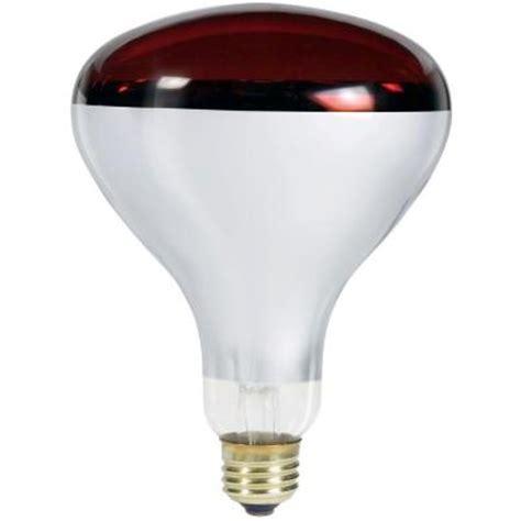 250 watt heat l home depot philips 250 watt br40 red heat l light bulb 389338