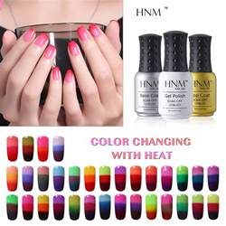 temperature color changing gel nail hnm temperature 3 color changing gel nail 8ml mood