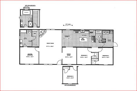 mobile home floor plans luxury new mobile home floor plans new home plans design