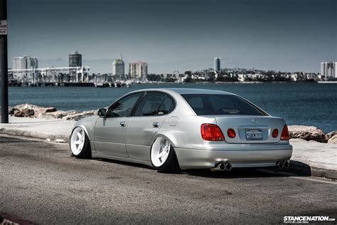 bagged lexus is300 wide aggressive liberty vip lexus gs stancenation