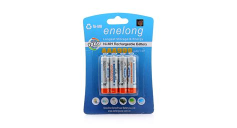 Battery Rechargeable Aaa Ni Mh Batteries 900mah Enelong 4 06 enelong 1 2v 900mah pre charged rechargeable hybrid