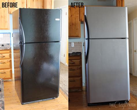 the craft patch i painted my appliances liquid stainless steel review