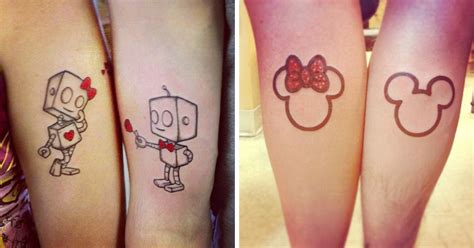30 amazing couple tattoos that will make you look twice