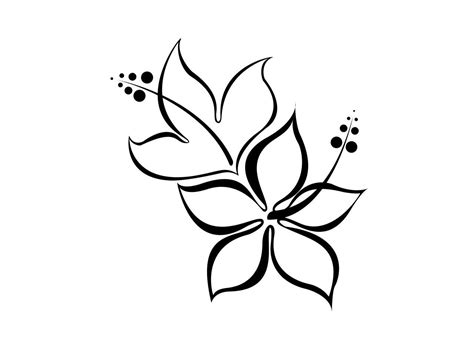 easy floral designs for those interested in getting a flower tattoo a