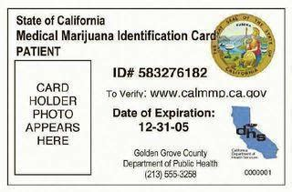 marijuana card template how to get a quot marijuana id card quot in california