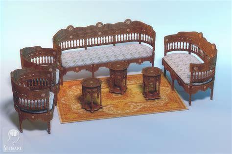 Arabian Furniture By Selmane On Deviantart