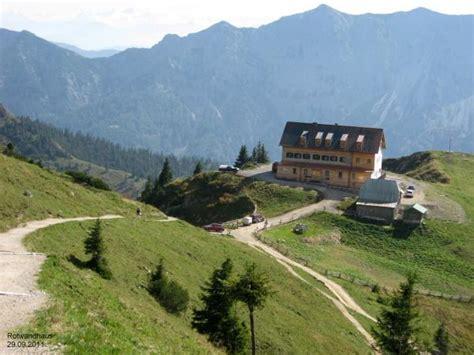 haus spitzingsee jo s h 252 ttenliste berggasthof neues 187 rotwand haus 171 im