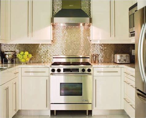small kitchen backsplash a reflective backsplash is a nice small kitchen idea