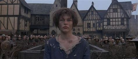 milla jovovich joan of arc short hair me milla jovovich and the filming of joan of arc book