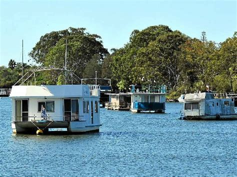 house boat noosa noosa s hulks not the worst according to new resident