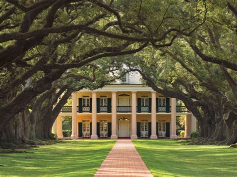 oak alley plantation new orleans plantation country