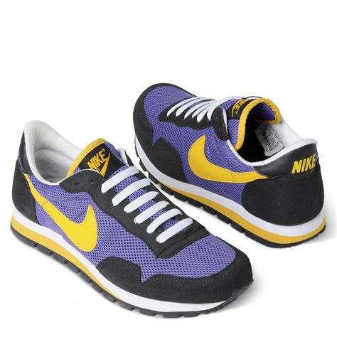 nike plus shoes nike metro plus retro running shoes in purple for lyst