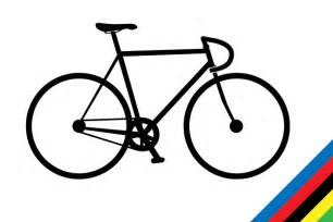 Road Bicycle Outline by Bicycle Vector Free Cliparts Co