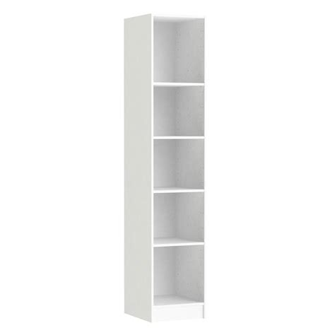 etagere 40 x 25 caisson spaceo home 200 x 40 x 45 cm blanc leroy merlin