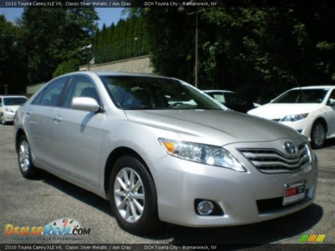 2010 Toyota Camry Xle 2010 Toyota Camry Xle V6 Classic Silver Metallic Ash