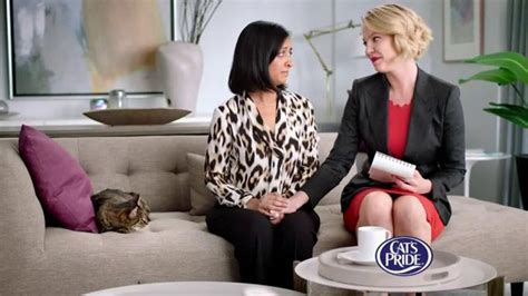 actress in cat s pride commercial cat s pride fresh light tv spot best litter featuring