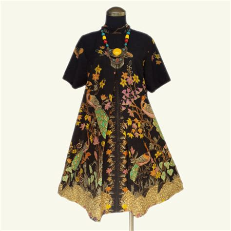 Dress Merak bd012 elise batik dress elise batik dress bahan batik