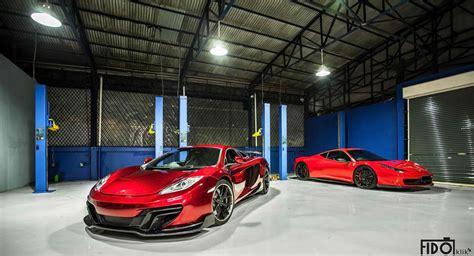 Garage Plus by 2013 Dmc Mclaren Mp4 12c Velocita Se Review Pictures