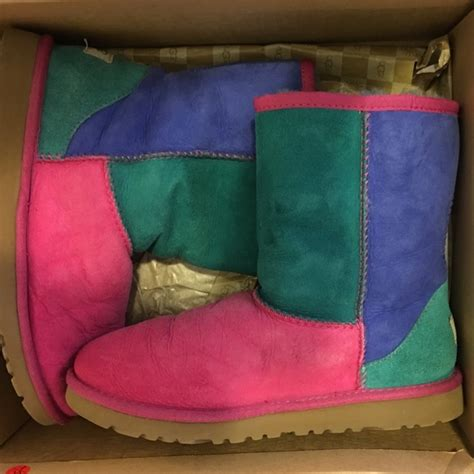 Patchwork Uggs - 63 ugg shoes patchwork uggs from nia s closet on