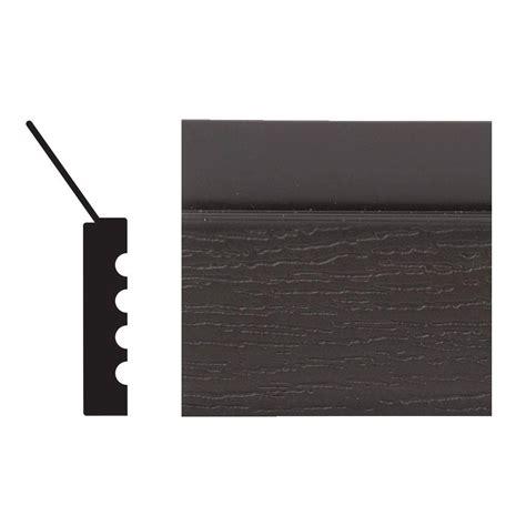 Royal Mouldings 2149 7 16 In X 2 In X 108 In Vinyl Garage Door Stops