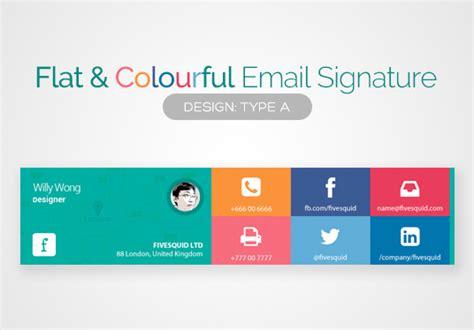 design html signature freelance email signature services online fivesquid