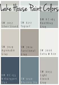 best paint colors the best lake house paint colors calming blue and gray