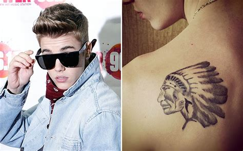 Justin Bieber Head Tattoo | old potrix blog photos justin bieber shows off fresh
