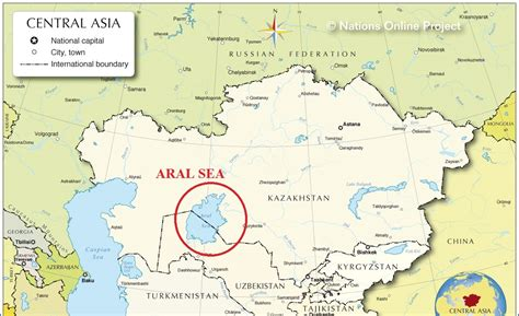 asia sea map aral sea on map my