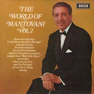 mantovani hits mantovani and his orchestra the world of mantovani vol