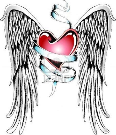 tattoo angel heart 160 best images about tattoos on pinterest feathers