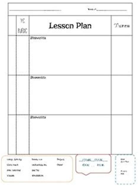 block lesson plan template 1000 images about lesson planning on lesson