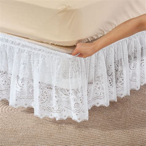 lace bed skirt lace bed ruffle lace bed skirt lace dust ruffle