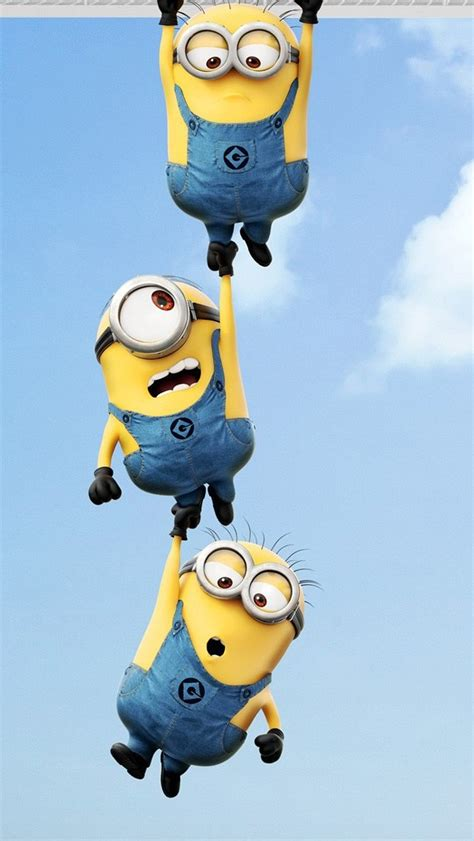 iphone themes minions wallpaper iphone 5 s despicable me minions 640 x 1136