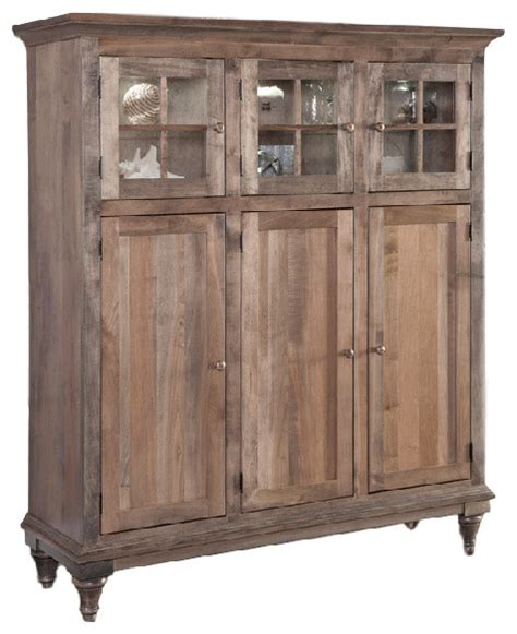 Farmhouse Pantry Cabinet by Prairie Cabinets Farmhouse Pantry Cabinets By Conrad