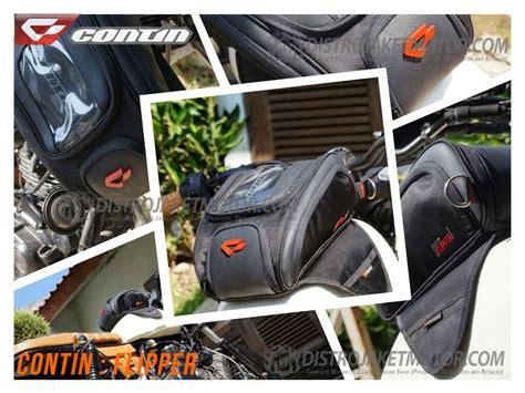 Jual Tank Bag Contin Skipper Baru Tas Motor Tas Helm Biker tas tankbag dan paha contin distrojaketmotor
