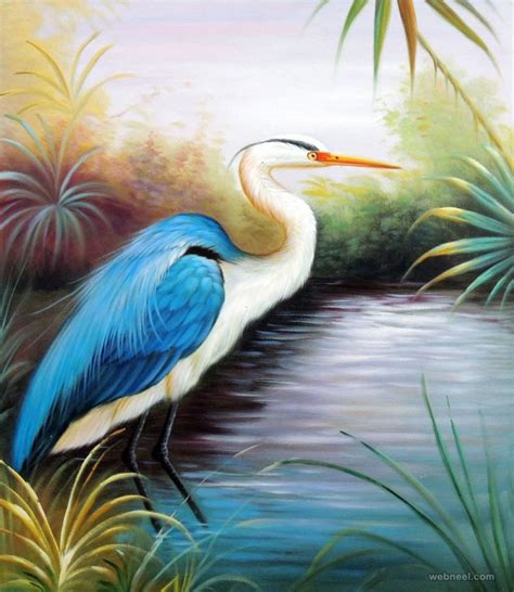beautiful art pictures bird painting 2 preview