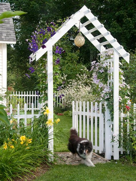 Garden Arbor And Fence How To Create A Magical Garden The Inspired Room