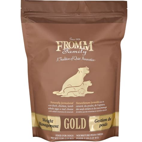 fromm gold food fromm gold food weight management 5 lb
