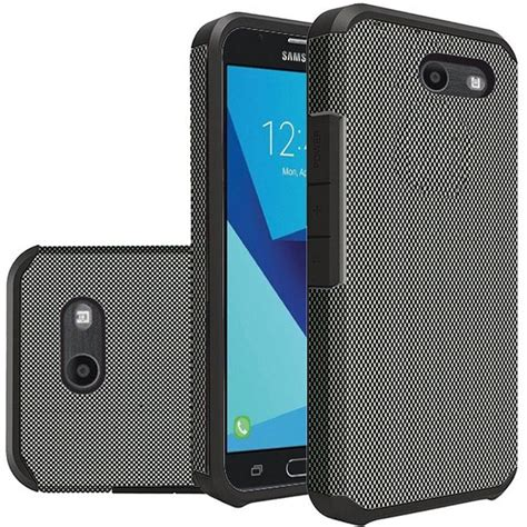 for samsung galaxy j7 2017 hybrid rugged grip slim armor
