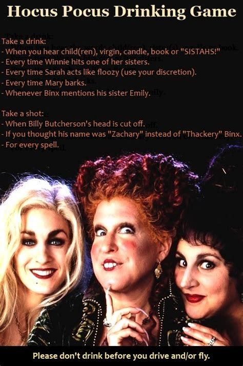 halloween drinking games halloween games halloween party and hocus pocus on pinterest