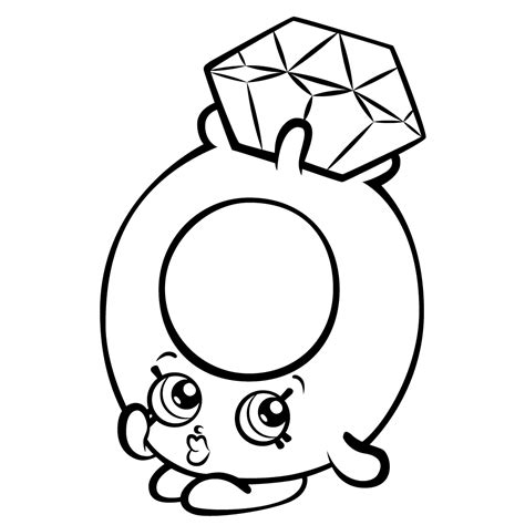 Shopkins Coloring Pictures To Print Collections 6 Shopkins Coloring Pages Pictures To Print