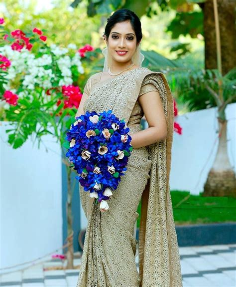Wedding Bouquet Kerala by Traditional Kerala Christian Wedding Saree Dresses