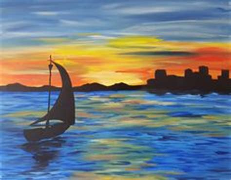 paint nite bay 1000 ideas about boat painting on