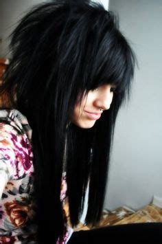 emo choppy layered hairstyles front back and sides if i had long hair and kept it choppy hairstyles