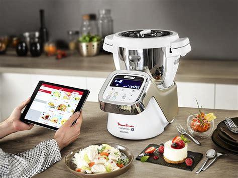 robots cuisine moulinex i companion hf900110 cuiseur connect 233