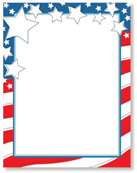 Patriotic Stationery Printable | 6 best images of printable patriotic stationery free